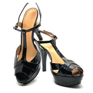 Nine West Women's 9M Patent Black Heels